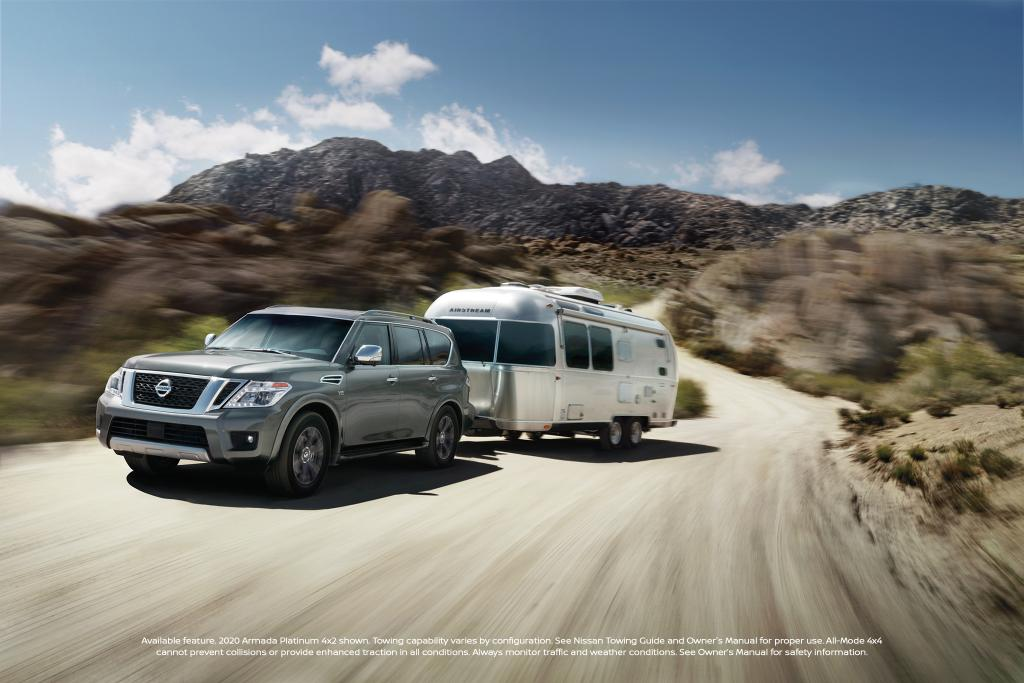 As fierce as the terrain. With All-Mode 4WD for optimal traction for a variety of terrains in the #NissanArmada2020 https://t.co/xhEtQL28xM