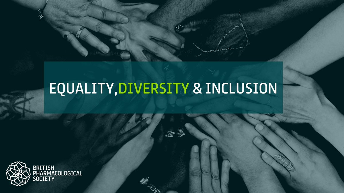 We are committed to placing Equality, Diversity & Inclusion (EDI) at the heart of #pharmacology.  Tell us about your #EDI work or share it at our annual conference, #Pharmacology2020.  Read more: https://t.co/6GKz6pL5T5  Deadline: 9am, Monday 2 Nov 2020.  #BlackHistoryMonth https://t.co/LVPpa01Vls
