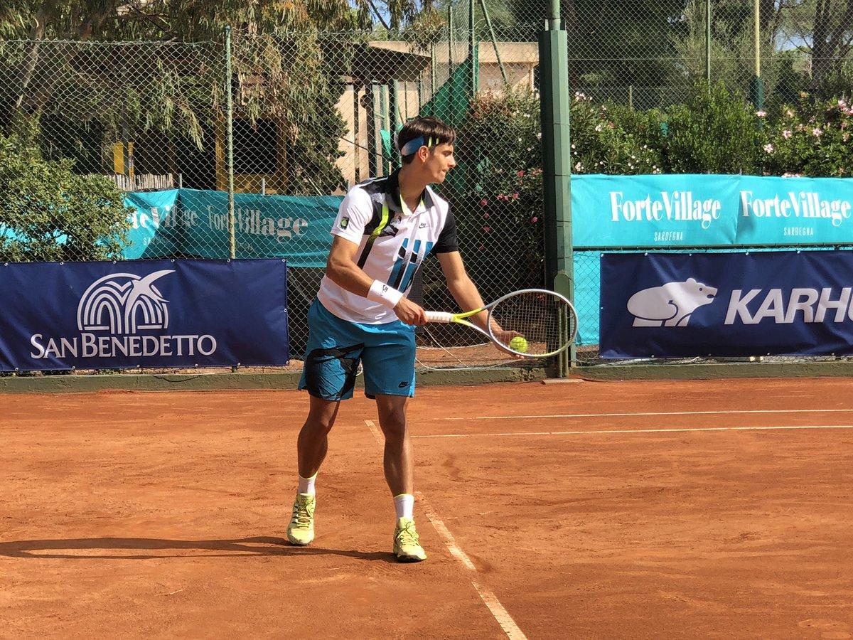 💪🏼🇮🇹 Immenso Lorenzo #Musetti !!  Al Forte Village Sardegna Open batte #Hanfmann 62 64 e si qualifica per la prima semifinale in carriera in un torneo #ATP!   #tennis #Musetti https://t.co/Io45nbspOn