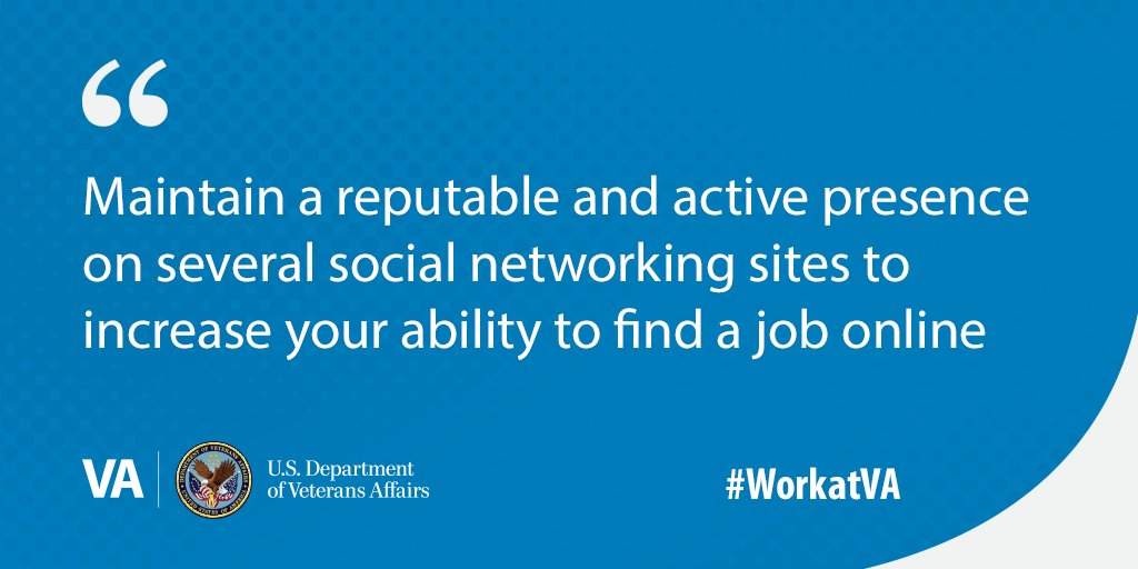 Networking allows you access to opportunities you might not be able to find on your own. Check out some #networking tips from @VACareers that can help you #WorkAtVA. https://t.co/CbunBlPF7I https://t.co/T5PRDu1rdJ