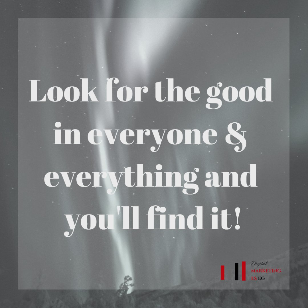 Look for the good in everyone and everything and you will find it!  #cultivatewhatmatters  #empoweringwomen  #livefullyalive https://t.co/yEHEplzVb4