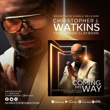 Today's the day. Go get it!! #ComingMyWay @1ChrisJWatkins