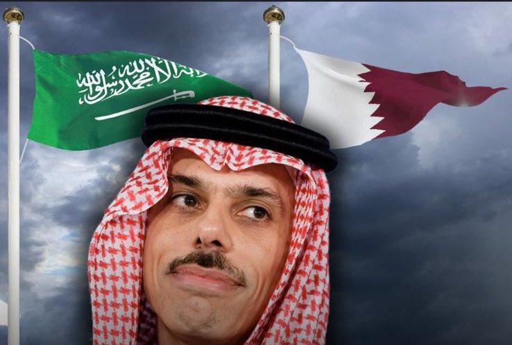وزير الخارجية السعودي الأمير فيصل بن فرحان: السعودية تتطلع لحل أزمة الخليج بالتعاون مع إخواننا القطريين!  @FaisalbinFarhan  @AdelAljubeir  @MBA_AlThani_ https://t.co/oOYc0OlNVo