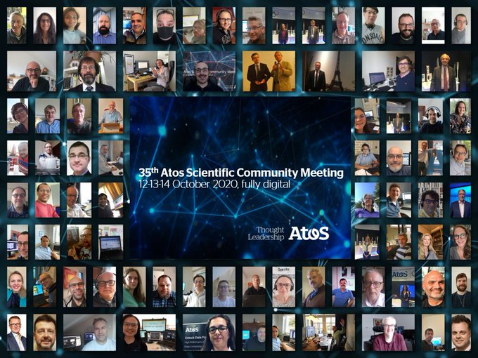 We ended the 35th Atos Scientific Community Meeting with presentations by #AtosSC members on...