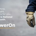 No matter what life or Mother Nature brings, our members (that's you!) always come first. #PowerOn #CoopMonth