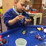 """This first half of term has just flown by in Kindergarten! We have achieved so much already;we have looked at shapes, colours, numbers and name recognition alongside our topic of the term """"My family and me"""". The children's independence is growing and friendships are blossoming."""
