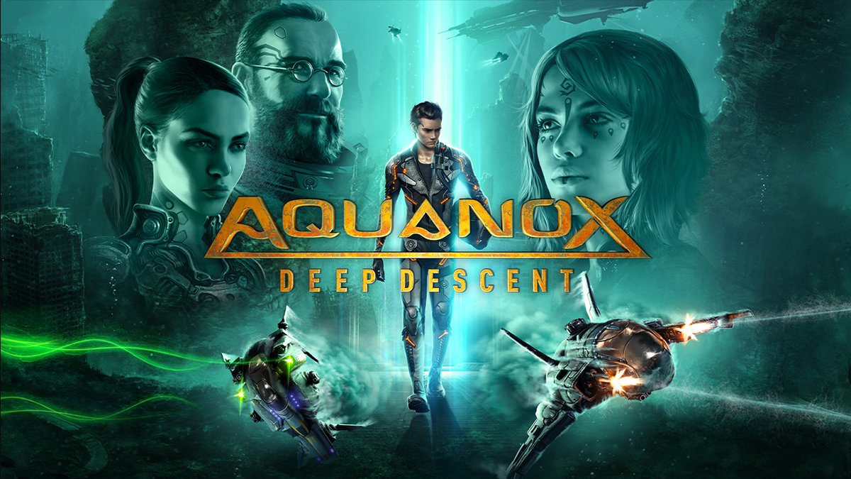 We left the surface of the Earth in ruins & abandoned it.  The sea is now our new home.  Pilot customized fighter ships and explore a deep sea dystopia torn by the struggle for resources and survival.  Aquanox Deep Descent –10% | https://t.co/QkEGDdUwmS | @THQNordic https://t.co/GnNrjOALOP