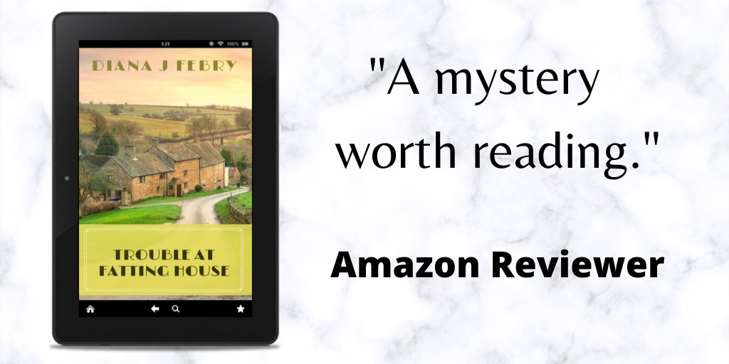 Enjoyable village murder mystery mybook.to/FattingHouse #stayhomeandread #cosymystery