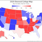 Image for the Tweet beginning: Since Thursday's update @ElecCollPolls logged