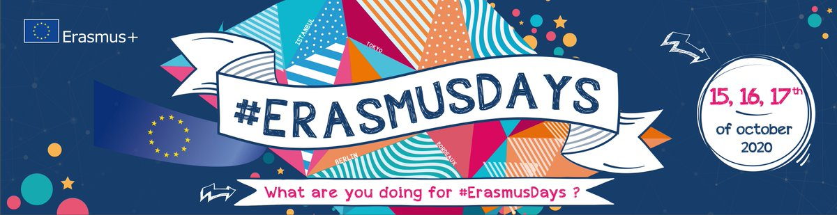 """#ErasmusDays We were delighted to chat with our Youth Panel Chair Emilie Vedel Blankschon who shared her experiences that have led her to her daily mantra """"Don't be shy""""   Read more: https://t.co/JxJpBmZet3 https://t.co/bUsP8iEZE1"""