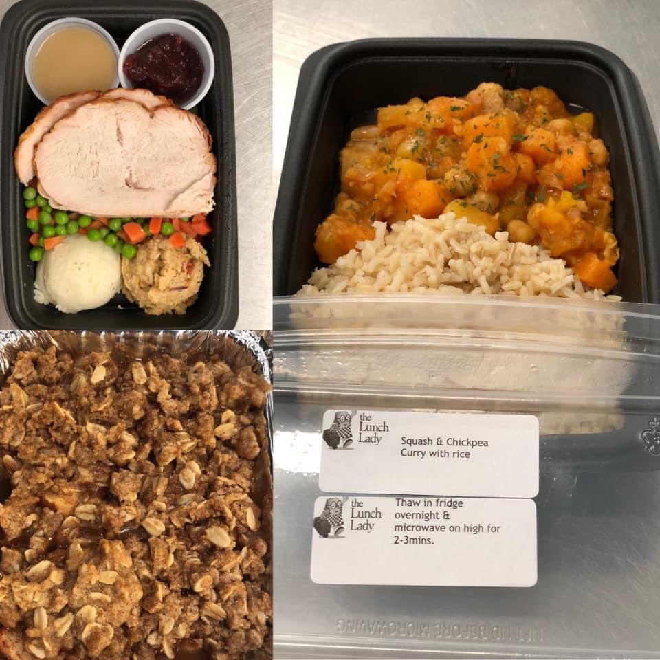 Let the @TheLunchLadyLo1 do the cooking. They will donate $2 from every frozen entree on October's menu, just mention My Sisters' Place when ordering.Thx Sheela for your ongoing kindness & generosity. Treat yourself, a student, new Mom, senior #ldnont @CMHAMiddlesex