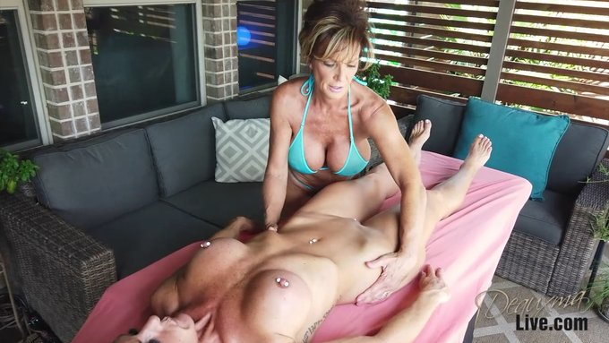 Video - Giving lesbian friend a body massage and then with a vibrator, https://t.co/c2sl3rXlmJ https://t