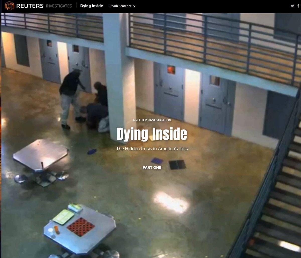 When minor crime becomes a death sentence – @Reuters investigates America's local jails  @byPeterEisler @LindaSoReports @grantmeaccess @jasonszep @nedmparker1