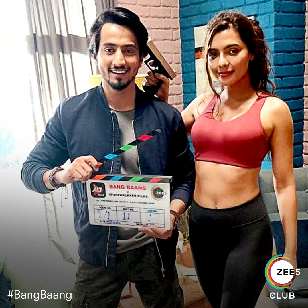 An Undercover and a Rookie Cop..   Lights... Camera... Action 🔥 Shoot starts for the most anticipated action-thriller.  @Mr_Faisu_07 & @ruhisingh11  Ab hoga #ZEE5Club par #BangBaang💥 https://t.co/SPaG3cT6Nr