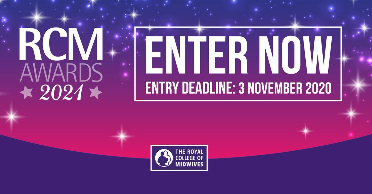 There is not long to go until the entry deadline for next year's #rcmawards is here! Make sure you put yourself in the running for one of these prestigious awards and enter now! Check out the categories here and start your process: https://t.co/voZEdwtfgE https://t.co/NYp0RZpA38