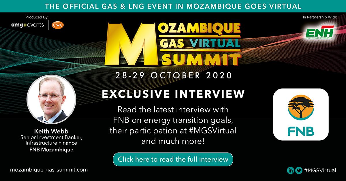 #MGSVirtual caught up with Keith Webb, Senior Investment Banker for FNB Mozambique for an exclusive interview where we discussed the growing role of gas in a low carbon future & how to promote coal-to-gas switching.  To read the full interview, visit:  https://t.co/rUrXBvGWs0 https://t.co/BPd2KEwIFC