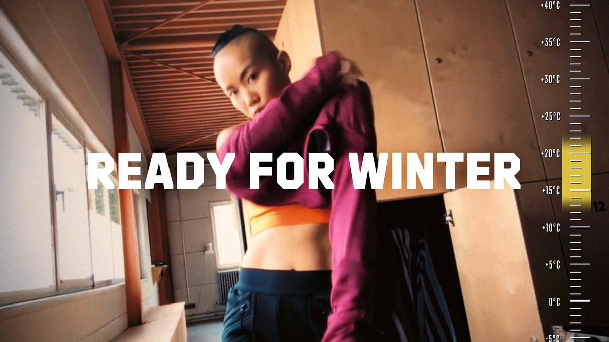 Temperatures drop, but our progress doesn't.   This winter we layer up and level up.   Get COLD.RDY at   #adidasRDY