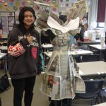 Image for the Tweet beginning: Superb IAG A Level Textiles