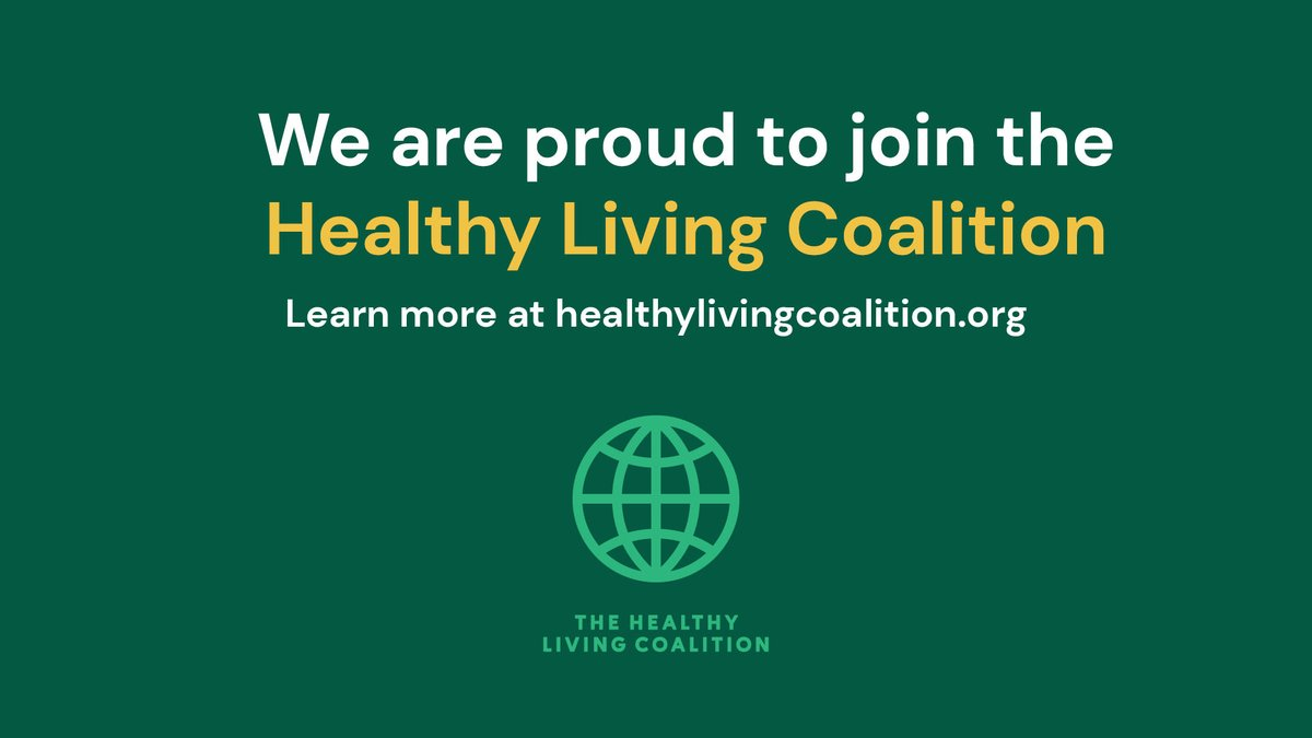 We are excited to join the Healthy Living Coalition! Together, as an alliance of organizations, we hope to get people not only food - but the food they need for a full and healthy life. Learn more at https://t.co/XNdnJz9BeG. #WorldFoodDay https://t.co/gVIXSTk6K9