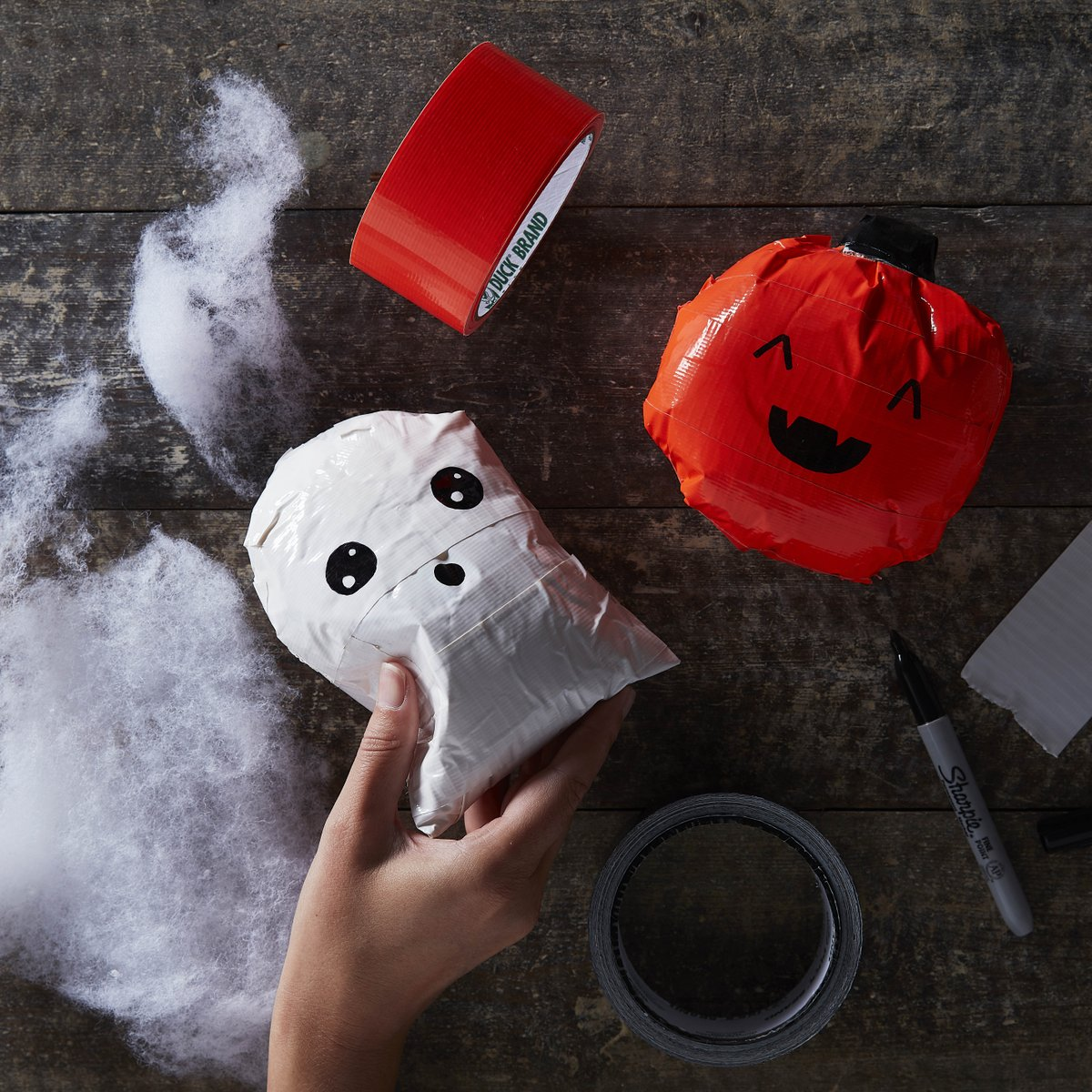 Squishies are so much fun to play with! Why not try to make your own Halloween designs using Soft Toy Stuffing and Duck Tape?   Follow our tutorial: https://t.co/csXvfg7W5z  #Halloween #KidsCrafts #Hobbycraft https://t.co/j67bwKP6nH