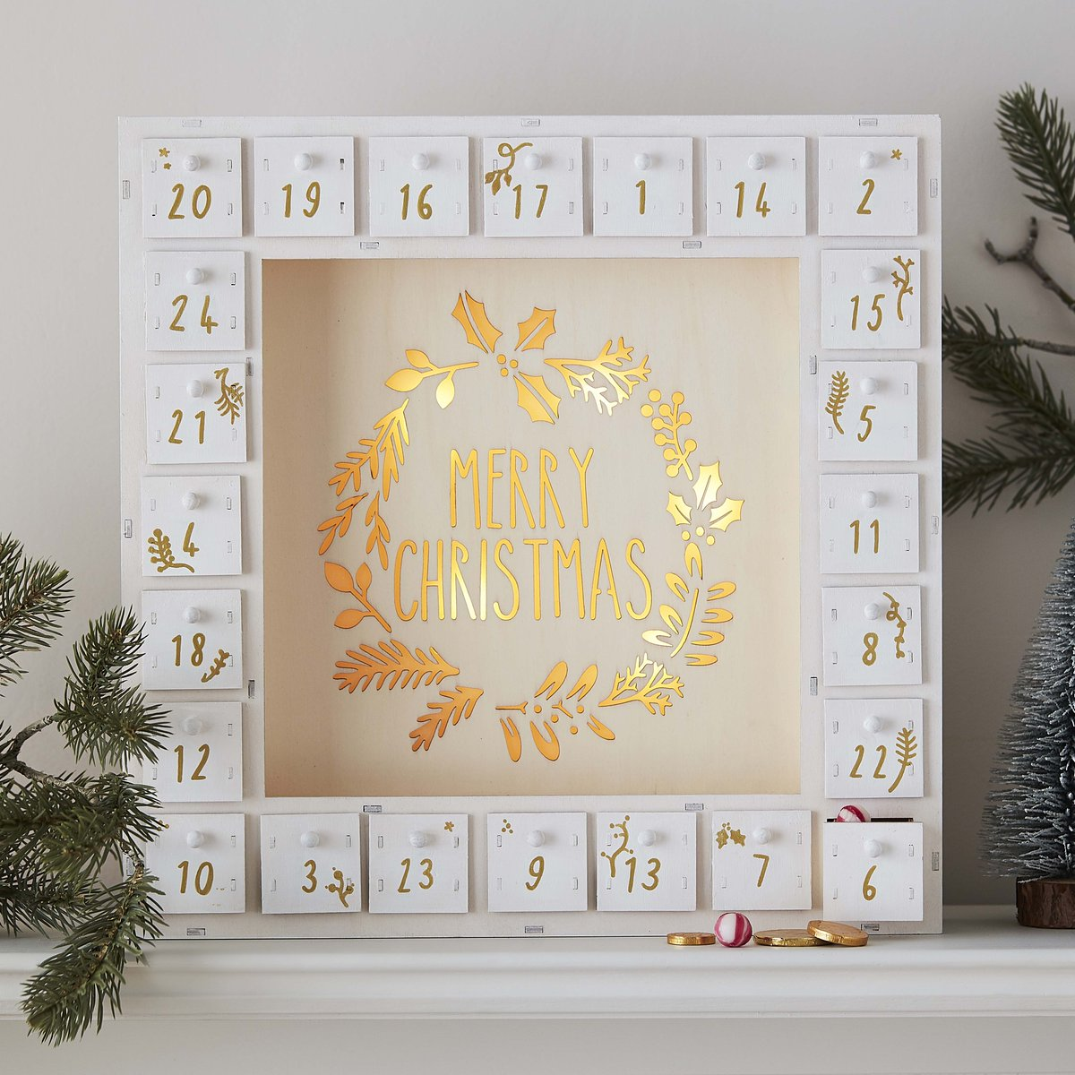 Spark off the holiday excitement with this fab LED Merry Christmas Advent Calendar!  Shop in-store and online while stocks last: https://t.co/vob1R1mdwS  #CraftTogether #Advent #Hobbycraft https://t.co/ui2uTVnqYA