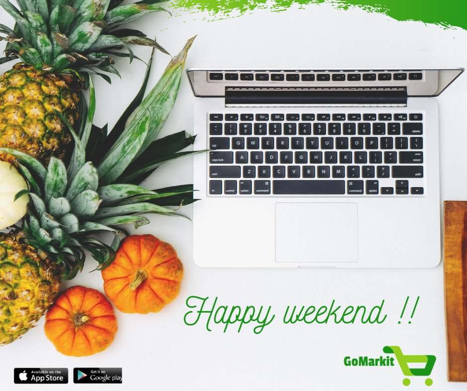 TGIF! It's the favorite time of the week.  Have us sort your grocery needs. All you gotta do is download the app and order away.   Download the app Today: https://t.co/uWtTrKUNrU  #gomarkit #homedelivery #grocery #grocerydelivery #fruits #vegetables #ordernow #fresh https://t.co/EYtYrhbUTz
