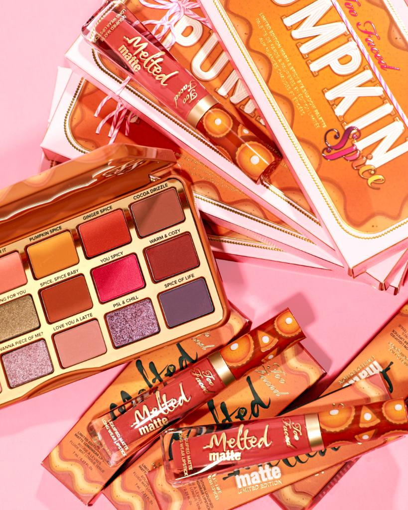 Spice things up 🔥 Have you tried our limited-edition Pumpkin Spice Palette & Melted Matte yet?! 🍂 They smell as good as they look. Shop it here: https://t.co/dwD0c6Gx1S #toofaced https://t.co/yuwHMlKhWU