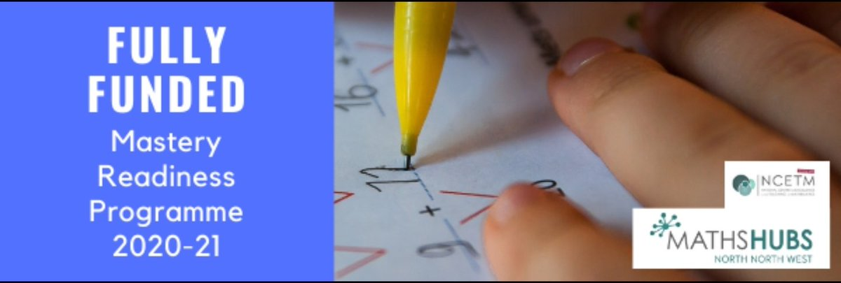 RT @JonStewMaths The @NNWMathsHub are offering a fully funded mathematics programme to all primary schools in Cumbria, Ribble Valley and Wyre Valley. This is a fantastic opportunity to lead your school on a mathematics PD journey. *SPACES LIMITED* GET IN TOUCH TODAY!!! @NCETM #Mathematics