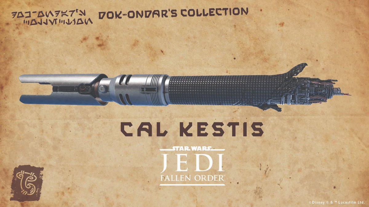 The votes are in! Cal Kestis lightsaber from #StarWarsJediFallenOrder is coming to Disney Parks: strw.rs/6009G4U5J