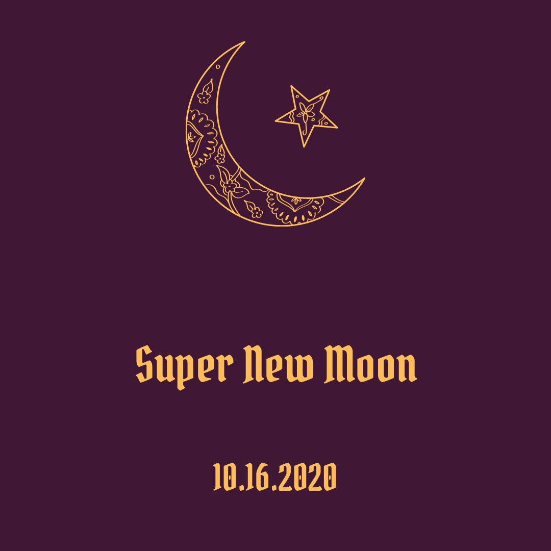 Super New Moon expectations: Resolutions to emotional blockage. More balance within relationships;friendship or romantic. Better alignment. Releasing fears and stepping into your own groove. How will you be celebrating the Super New Moon tonight? 🌙🔮✨ #jujuwebseries #manifest