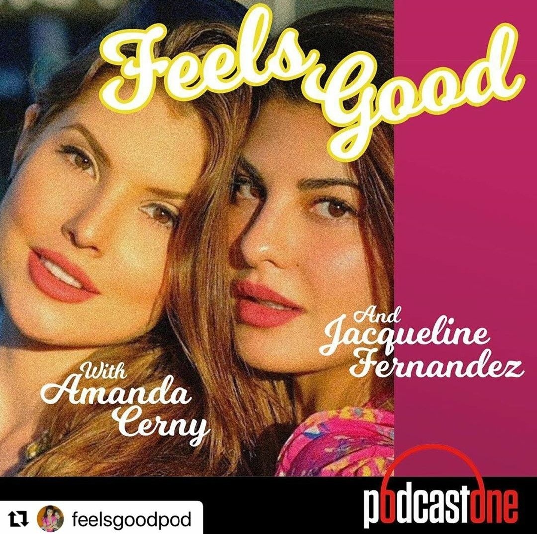 #feelsgoodpod We are giving away cash prizes each Tuesday on our new Feels Good Podcast!Go to link in bio , subscribe & leave a 5 star review with your insta tag in caption for chance to be announced as the winner each week ❤️❤️❤️ #jacquelinefernandez #Amandacerny