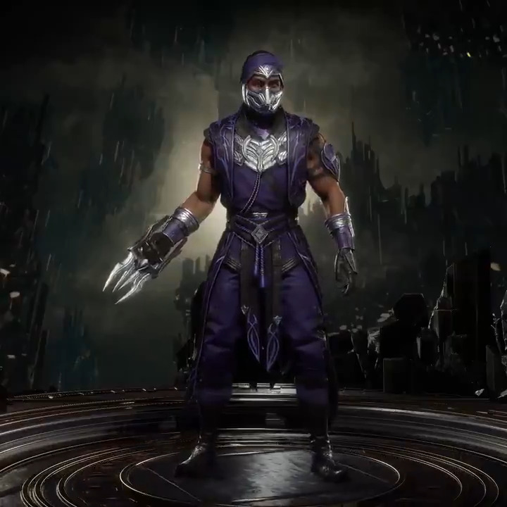 Son of the god Argus, Rain's alternative 'Divinely Touched' skin nods to his mystical origins. #MK11