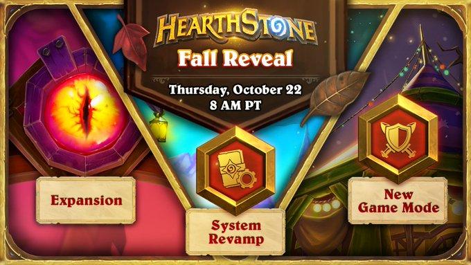 Fall Reveal Stream Topics