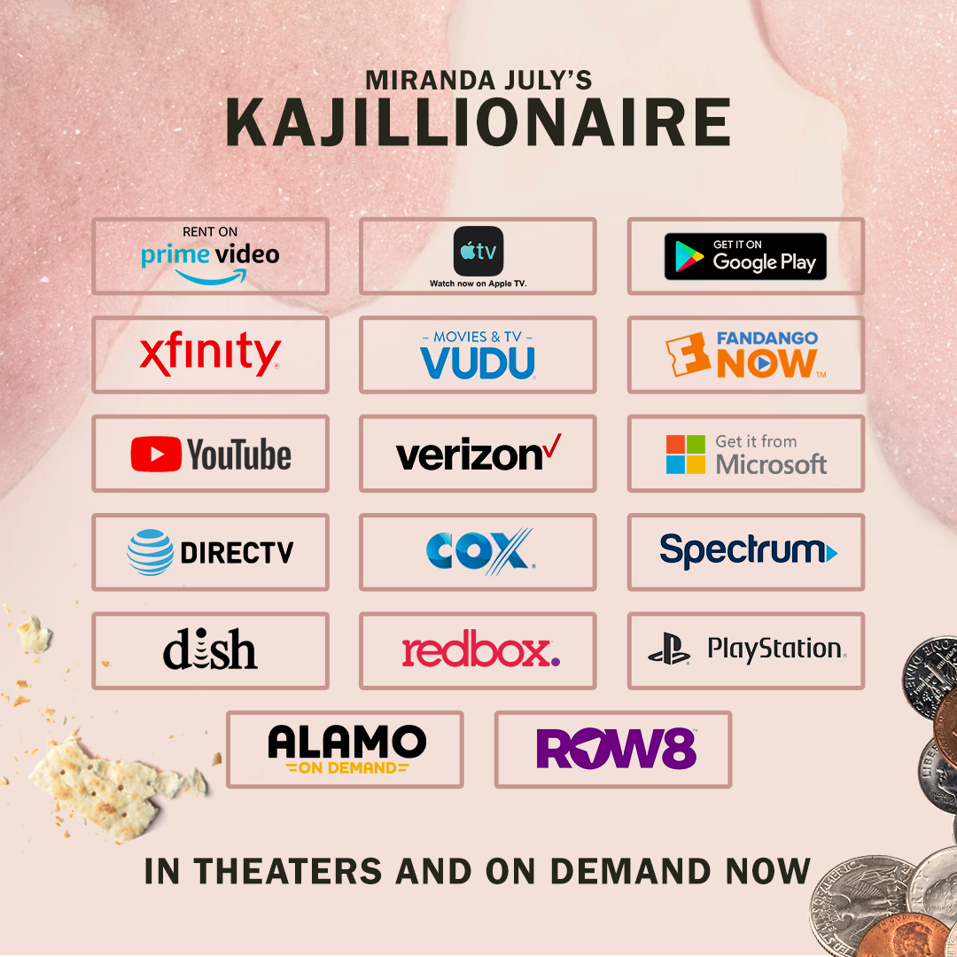 Spend your weekend at home with @Miranda_July's #Kajillionaire. Available on demand TODAY!  📺: https://t.co/S9SfPYBJyU https://t.co/oZoZdZLgwm