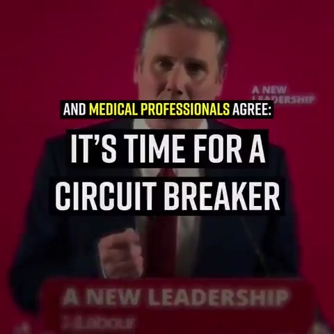 Fix testing, protect the NHS and save lives with a circuit breaker - backed by medical professionals 👇