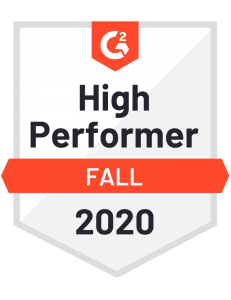 Big thanks to @G2dotcom for naming us as a High Performer in several categories this fall. 🎉 cos.sc/2F5LG7F