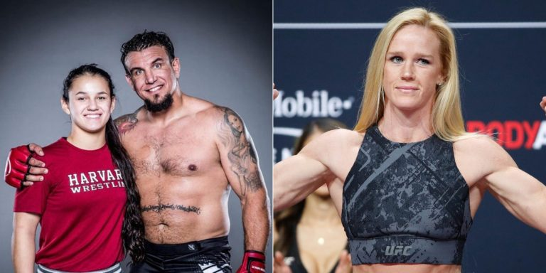 Exclusive: Bella Mir speaks of admiration for Holly Holm (@HollyHolm) ahead of prodebut   🗣 Ahead of her professional bow at #iKON2 on October 22nd. - Mir spoke of her admiration for former #UFC bantamweight best, Holm. 👊 (@FirstRoundMgmt) https://t.co/m2833Kl6lu https://t.co/OeygBoLAyX