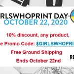 Image for the Tweet beginning: #GIRLSWHOPRINT DAY is approaching and