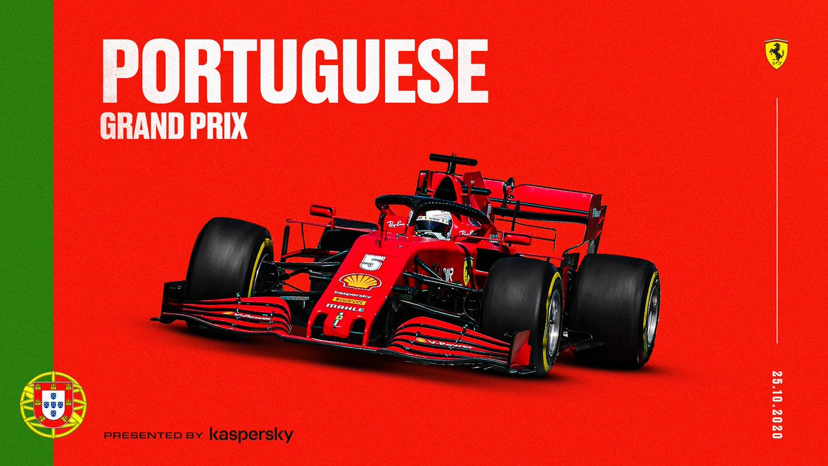 Discovering a new track, we're racing in Portugal next weekend! 🇵🇹  Presented by @Kaspersky   #essereFerrari 🔴 #PortugueseGP https://t.co/rAsCoWMYLs