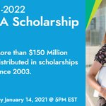 Image for the Tweet beginning: Reminder: Our 2021-2022 APIA Scholarship