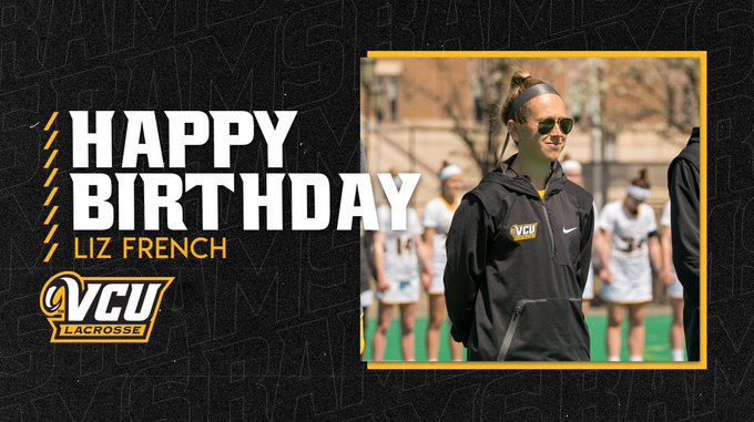 We want to wish our assistant coach Liz French a happy birthday!