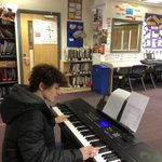 Image for the Tweet beginning: Great to welcome @AHS_Year11 music