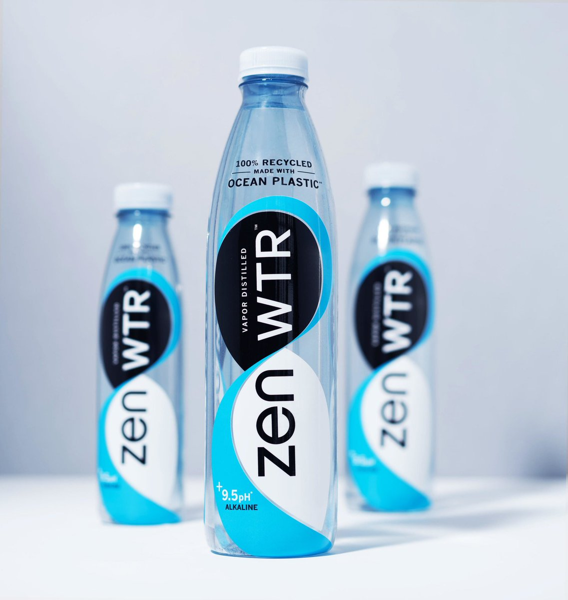 The use of ocean plastics for #packaging is not new, in fact, it's been gaining momentum since 2011.   What IS new is the use of ocean-bound🌊 plastics for a #food-grade application like #waterbottles and @drinkzenwtr has done just that!