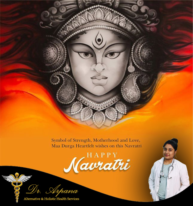 May Maa Durga bless you with happiness, good health, and prosperity. Let's share all our joy and fun together in this Navratri.  Wishing you a very happy Navaratri and a lot of cheers.  #happynavratri2020 #HappyNavratri #Nutrition #SwasthaBharat #TransformingHealth #AskArpana https://t.co/U73MYq5H2K