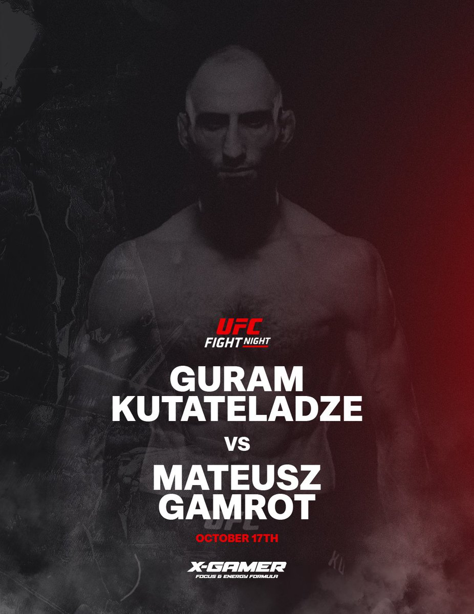 "On Saturday night @guram_dze  enters the cage at ""Fight Island"" in his @ufc debut fight!  If there is any match you should not miss, it is this one!  . . . . . #UFC #Guram #Fightisland #XGamerenergy #XGamer https://t.co/40gm5EBvFZ"