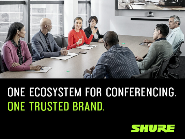 The Shure Audio Ecosystem just works. Period. Learn more: shu.re/3nYtMFx #proAV #AVTweeps