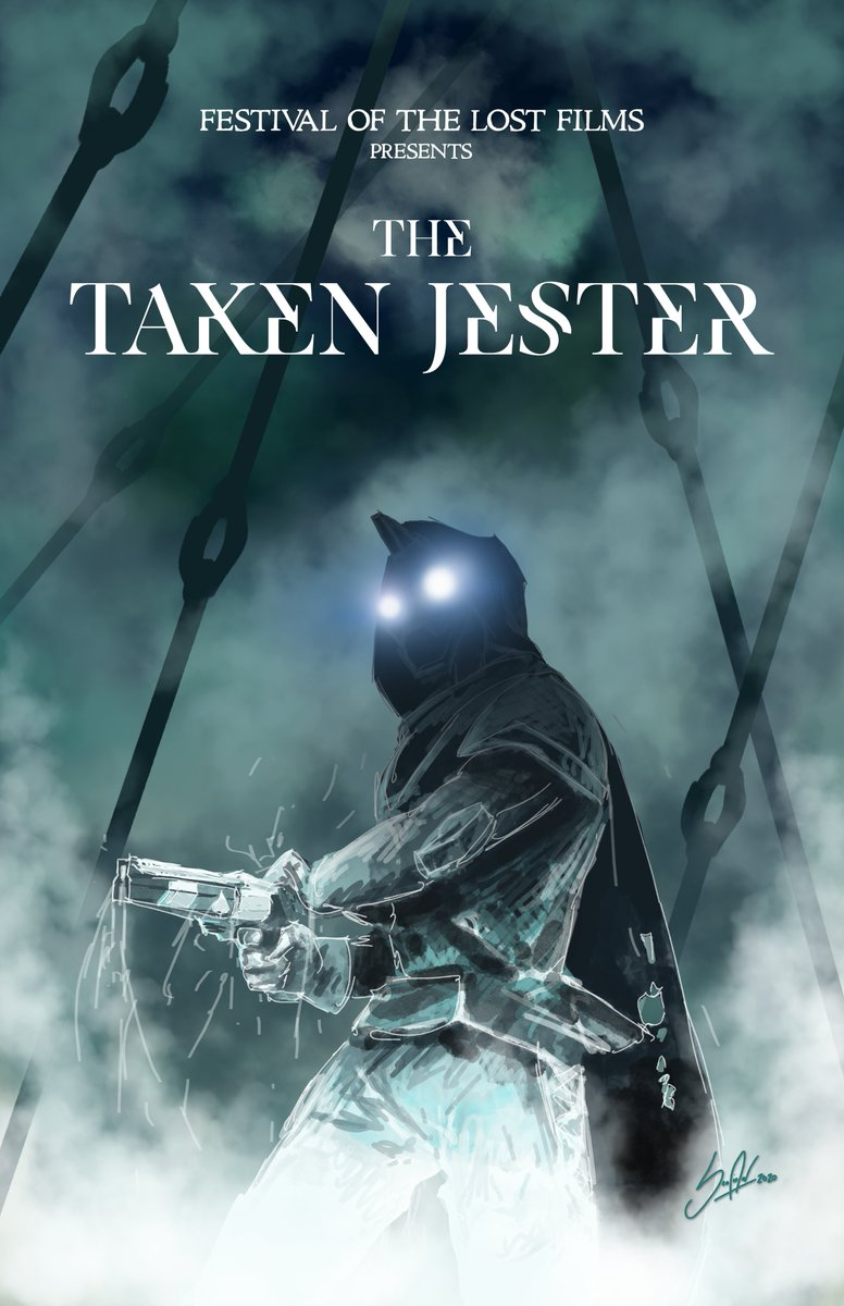 "#FOTLArtShow ""The Taken Jester"""