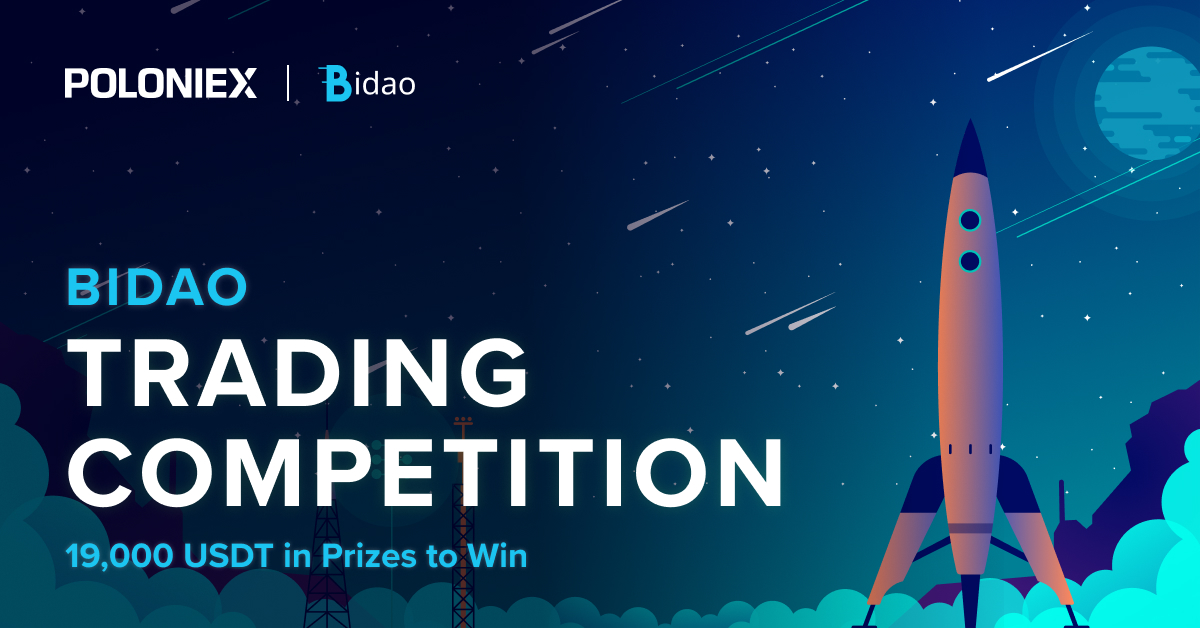 📢Don't miss out on our Bidao Trading Competition🚀  ✅ Trade 70,000 $BID before October 23rd at 20:59 UTC ✅ And win from a total prize pool of 19,000 $USDT 💰  More details 👇 https://t.co/PgFxbvFino https://t.co/ASOmfimptq