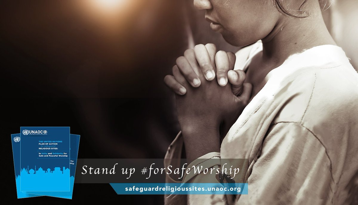 Religious sites must be respected as places of peace & harmony where worshippers & visitors can feel safe.  We all have a responsibility to look out for each other.  Join the global call #ForSafeWorship to protect religious sites worldwide. https://t.co/9WPMJakmRG https://t.co/5iwdOJ7VE0
