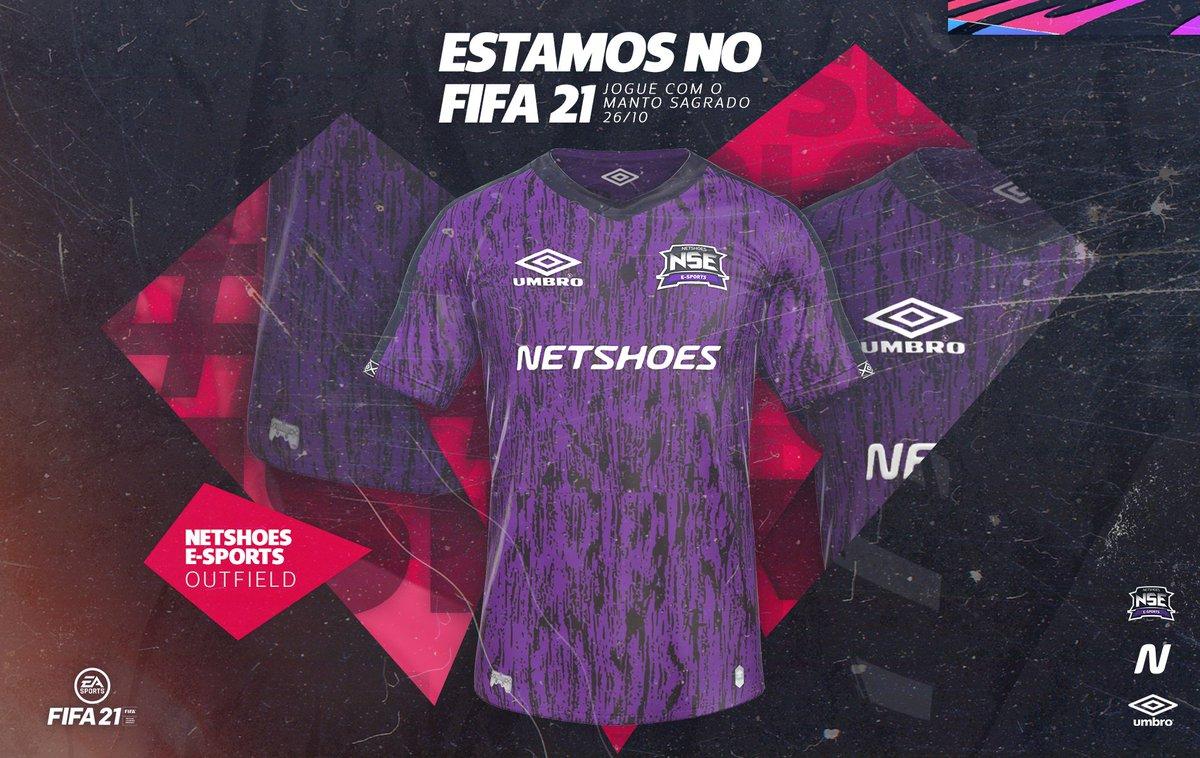 A BRABA CHEGOU! 👕 ⠀ Teremos o manto sagrado da NSE nos gramados do game FIFA 21! 🆕 ⠀ 🗓 Você poderá jogar com nosso uniforme a partir do dia 26/10. Fica ligado!  Curtiu? Aqui tem: https://t.co/sPjjL4ASL3 ⠀ #GoNSE #FIFA21 https://t.co/veiKpNuvXt
